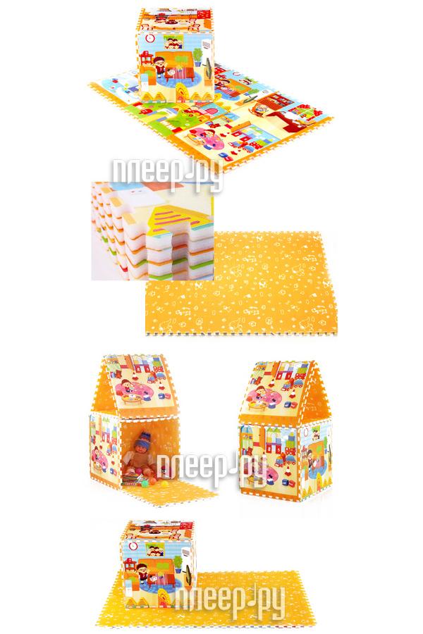 Развивающий коврик Mambobaby Пазл Семейный дом 70002  Pleer.ru  1296.000