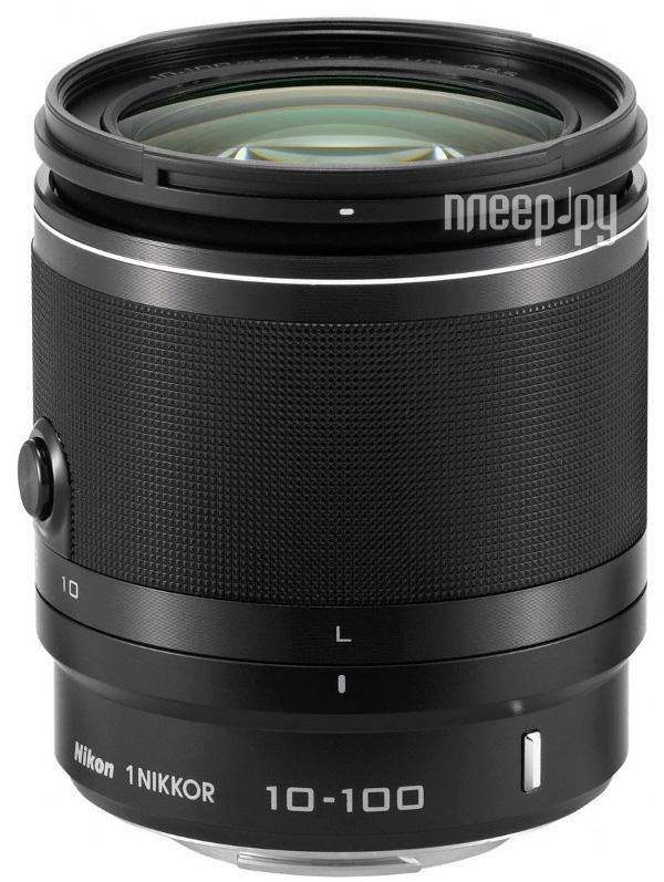 Объектив Nikon Nikkor 10-100 mm F/4-5.6 VR for Nikon 1 Black  Pleer.ru  13478.000