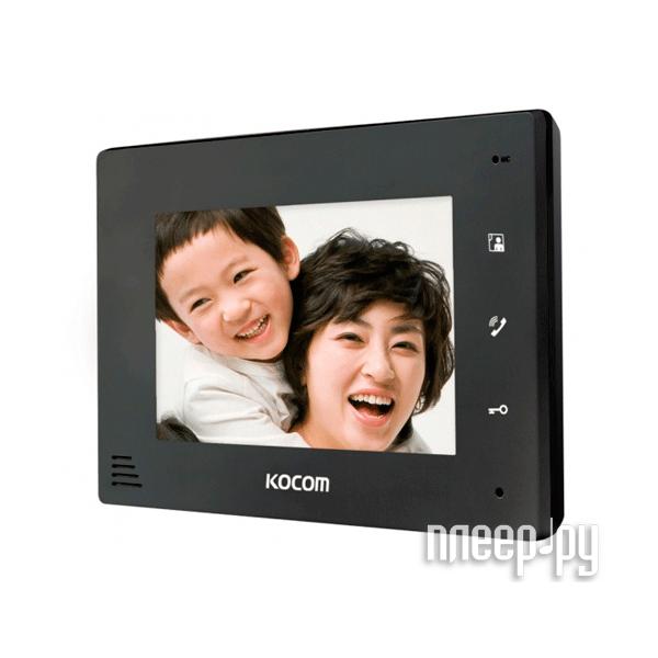 Видеодомофон Kocom KCV-A374 Black  Pleer.ru  4598.000