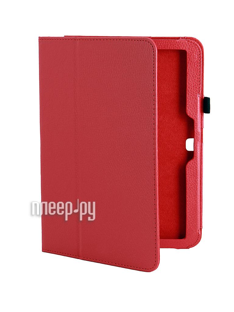 Аксессуар Чехол Galaxy Tab 3 10.0 T5200/T5210 Palmexx Smartslim Red PX/STC SAM Tab3 T5200 RED  Pleer.ru  399.000