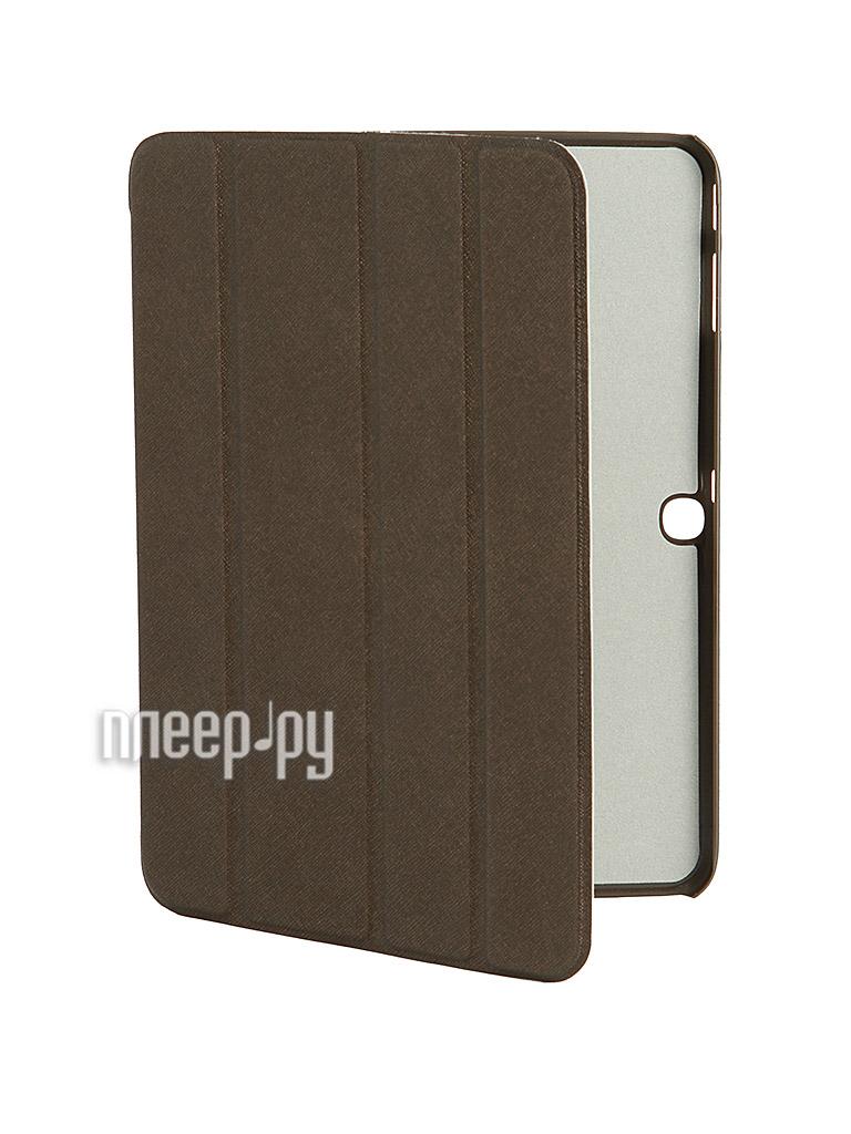Аксессуар Чехол Galaxy Tab 3 10.0 P5200/P5210 Ainy BB-S110 / Palmexx Smartbook Brown PX/SMB SAM Tab3 P5200 BRO  Pleer.ru  899.000