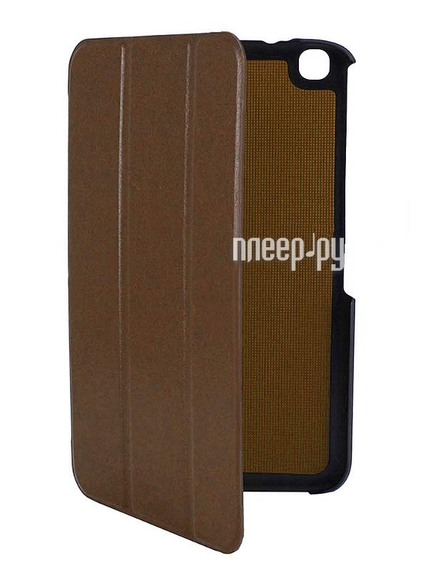 Аксессуар Чехол Galaxy Tab 3 8.0 T310 / T311 Ainy BB-S122 / Palmexx Smartbook Brown PX/SMB SAM Tab3 T310 BROW  Pleer.ru  1070.000