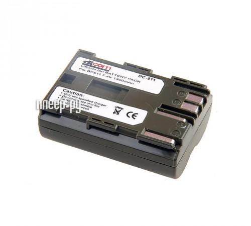Аккумулятор Dicom DC-511 / DC-512  Pleer.ru  247.000