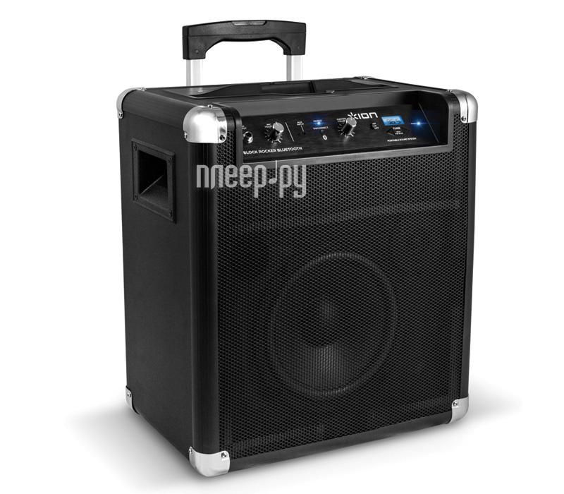 Мини-колонка ION Audio Block Rocker Bluetooth IONipa56 Black  Pleer.ru  11699.000