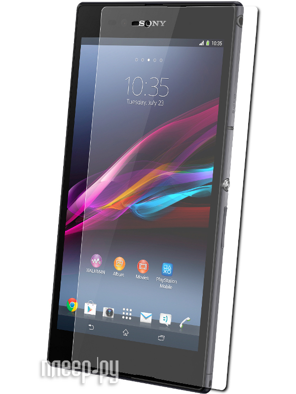 Аксессуар Защитная пленка Sony C6802 Xperia Z Ultra LuxCase суперпрозрачная 80933  Pleer.ru  555.000