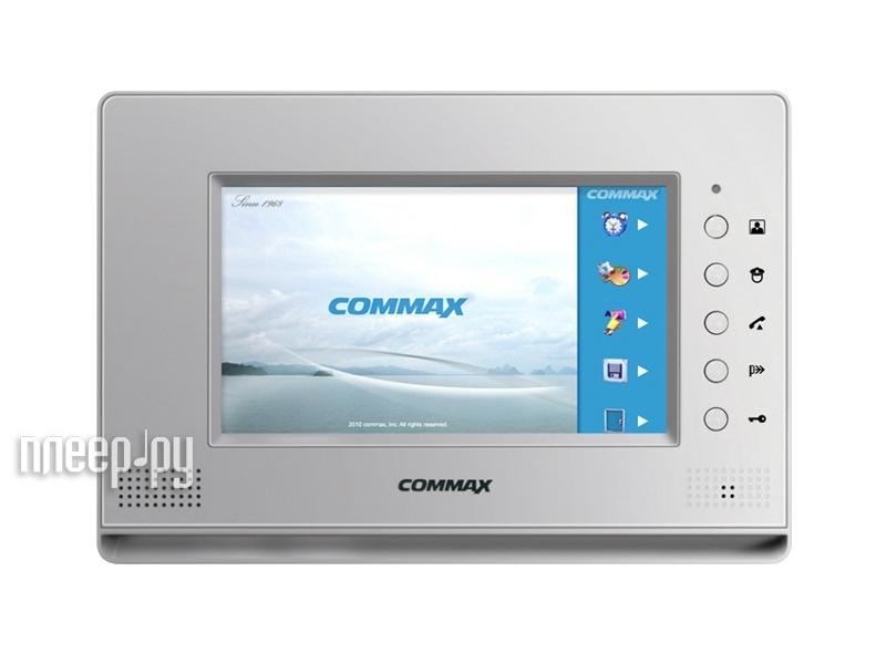 Видеодомофон Commax CDV-70A Silver  Pleer.ru  5548.000