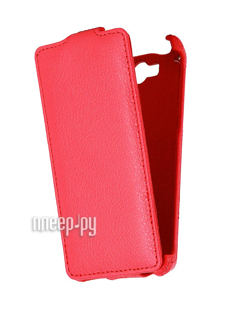 Аксессуар Чехол Philips W737 Gecko Red