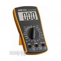 Цифровой мультиметр Victor VC830L Технические характеристики: Разрядность шкалы мультиметра: 2000 отсчетов Постоянное...
