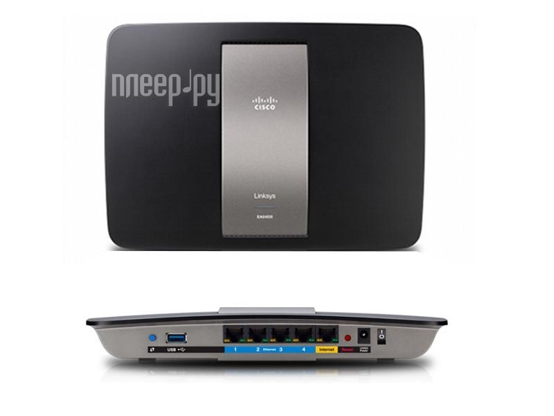 Wi-Fi роутер Linksys EA6400  Pleer.ru  5496.000