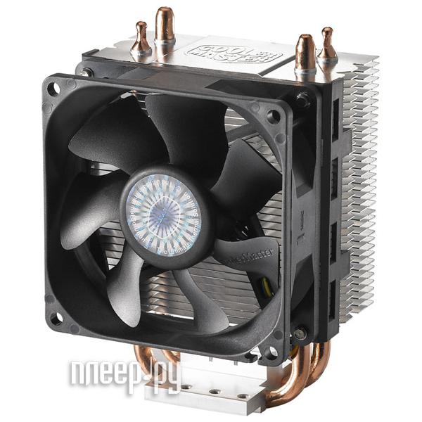 Кулер Cooler Master Hyper 101 RR-H101-30PK-RU (Intel LGA775 / LGA1155 / LGA1156 / AMD AM2 / AM2+ / AM3 / AM3+ / FM1 / FM2 / S754 / S939 / S940)