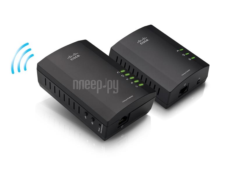 Powerline адаптер Linksys PLWK400-EU  Pleer.ru  3680.000