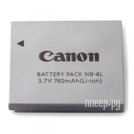 Аккумулятор Canon NB-4L  Pleer.ru  1498.000