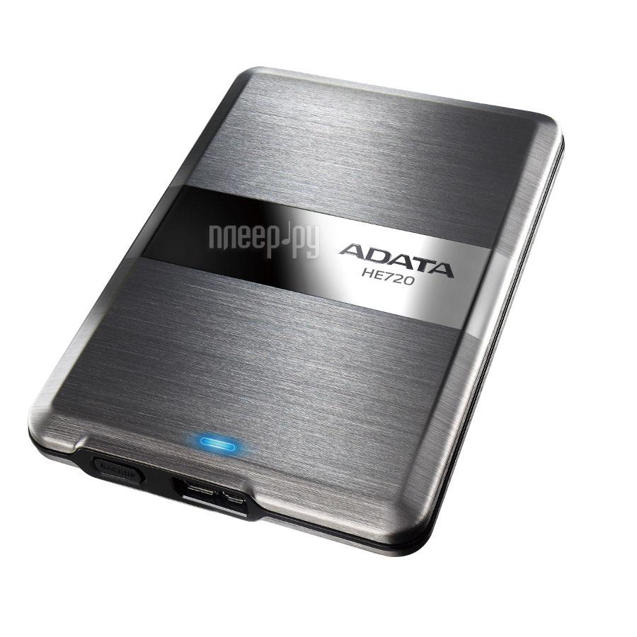 Жесткий диск A-Data DashDrive Elite HE720 1Tb Titanium AHE720-1TU3-CTI