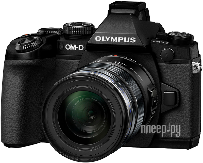 Фотоаппарат Olympus OM-D E-M1 Kit 12-50 mm f / 3.5-6.3 Black-Black