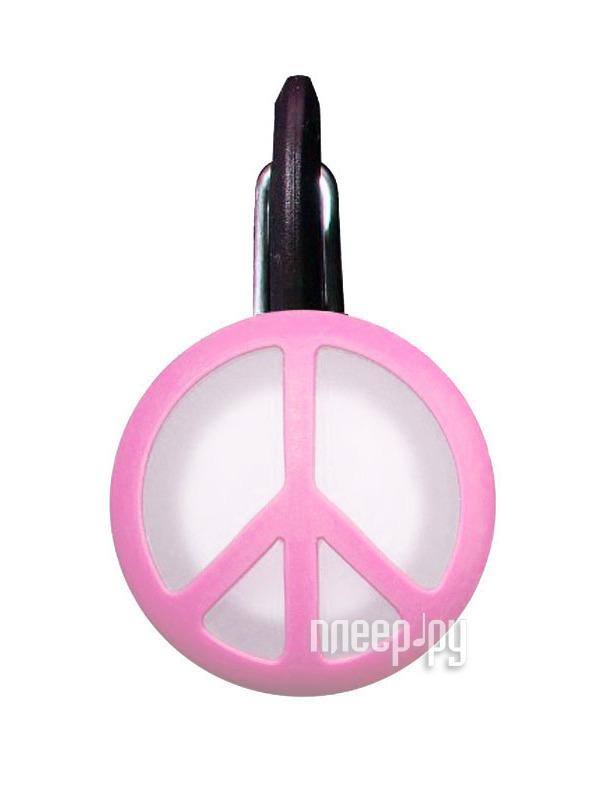 Аксессуар Nite Ize NCLS02-03-12PE Pink Peace Sign - брелок  Pleer.ru  144.000