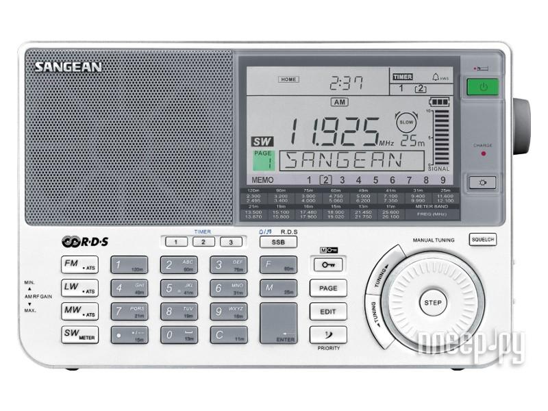 Всеволновый радиоприемник Sangean ATS-909X.