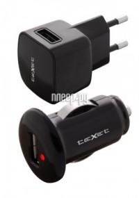 teXet PowerUno TCS-1101 ��� microUSB Black �������� ���������� ������������� + �������
