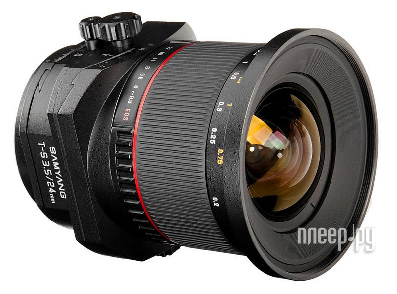 Объектив Samyang Nikon MF T-S 24 mm F / 3.5 AS ED UMC купить