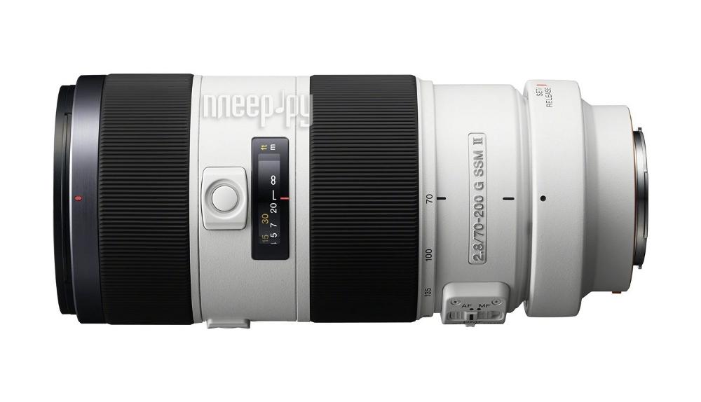 Объектив Sony 70-200 mm F/2.8 G SSM II SAL-70200G2*