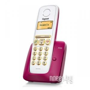 Купить Радиотелефон Gigaset A130 Bordeaux