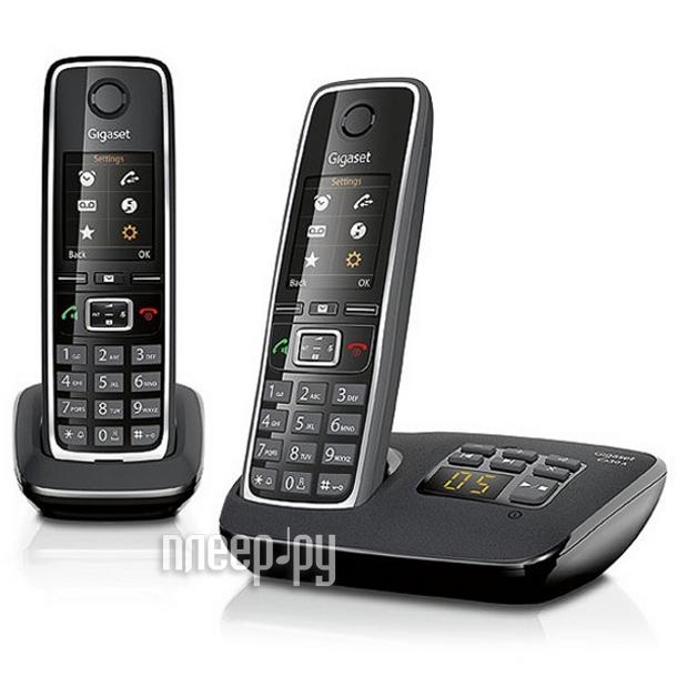 Радиотелефон Gigaset C530AM DUO / C530A DUO Black  Pleer.ru  3375.000