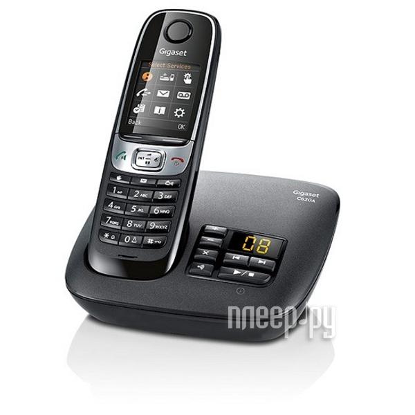 Радиотелефон Gigaset C620A Shiny Black