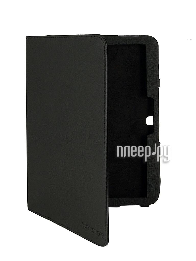 Аксессуар Чехол Galaxy Tab 3 10.0 P5200/P5210 SonicSettore Seoul Black 371057  Pleer.ru  880.000