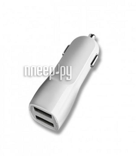 Зарядное устройство Deppa Ultra Duo 2xUSB White 11511  Pleer.ru  857.000