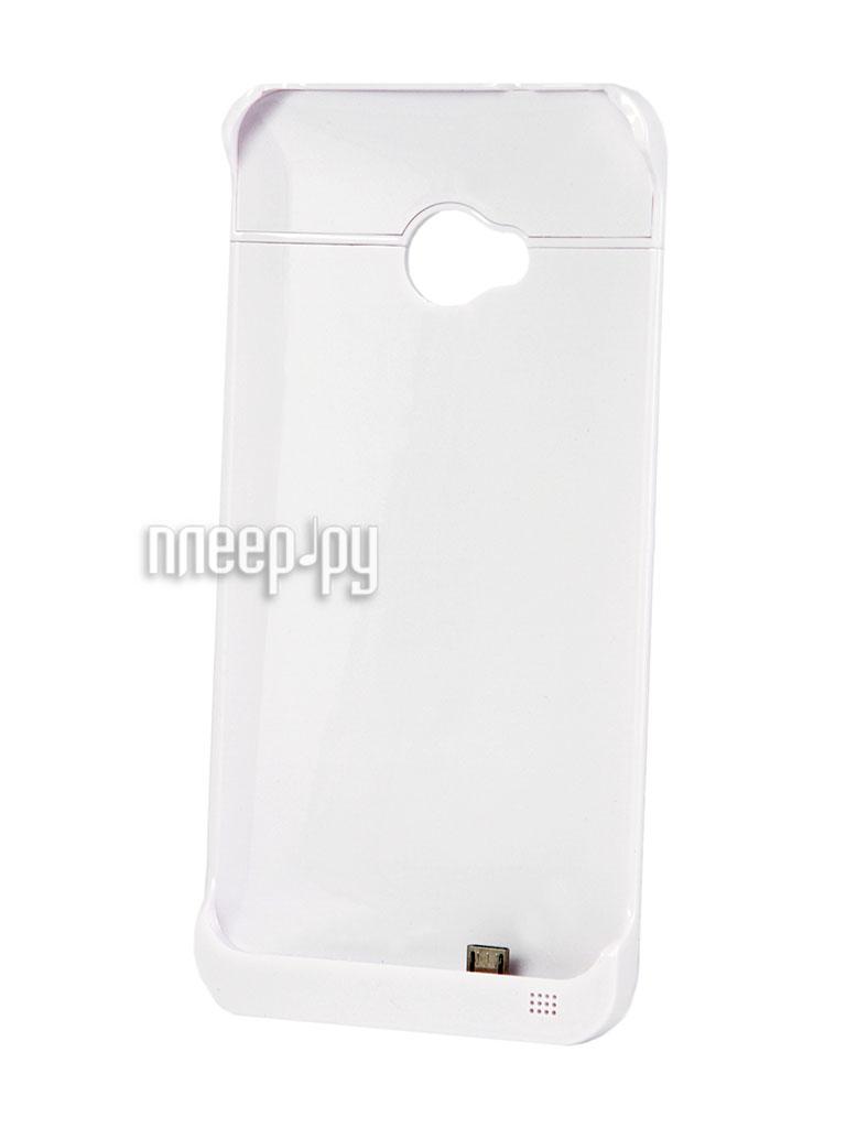 Аксессуар Чехол с аккумулятором Ainy for HTC One