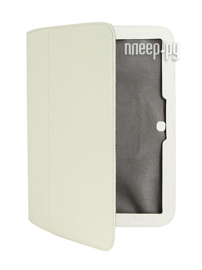 Аксессуар Чехол Galaxy Tab III 10.1 P5200 Untamo White USAMSTAB3101WH  Pleer.ru  1200.000