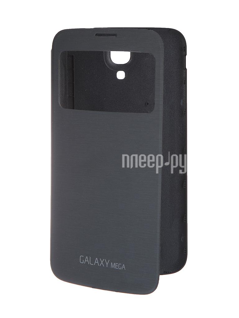 Аксессуар Чехол Samsung GT-i9200 Galaxy Mega 6.3 S-View EF-CI920BBEGRU Black  Pleer.ru  1951.000