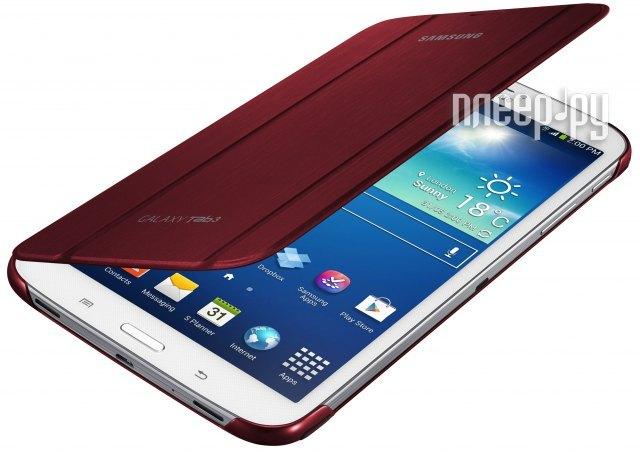 Аксессуар Чехол Samsung Galaxy Tab 3 8.0 SM-T310 / T311 EF-BT310BREGRU Red  Pleer.ru  1800.000