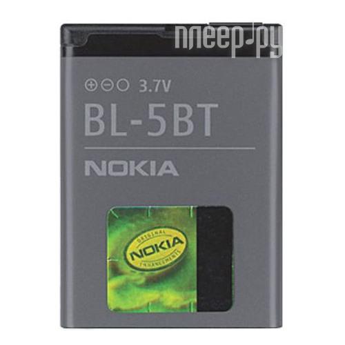 Аксессуар Аккумулятор Nokia BL-5BT 870 mAh  Pleer.ru  549.000