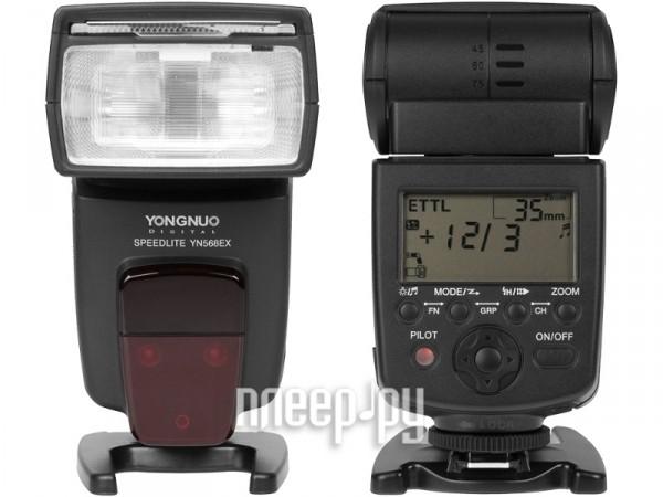 Вспышка YongNuo YN-568EX Speedlite for Nikon