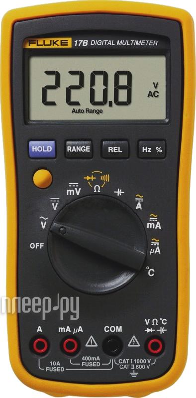 Мультиметр Fluke 17B/RU-C3  Pleer.ru  3093.000