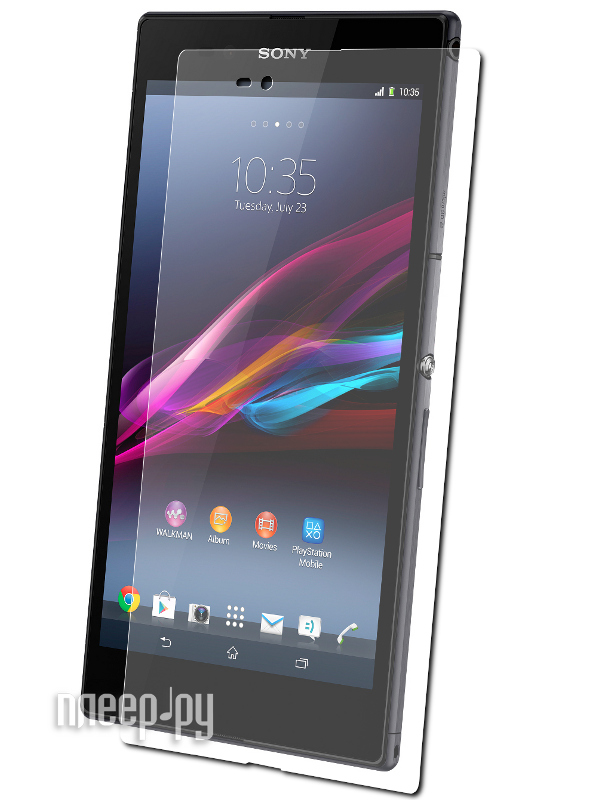 Аксессуар Защитная пленка Sony C6802 Xperia Z Ultra Media Gadget Premium  Pleer.ru  94.000