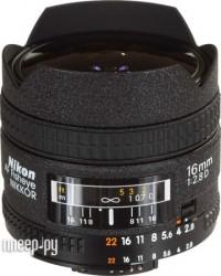 Nikon Nikkor AF  16 mm F/2.8 D Fisheye