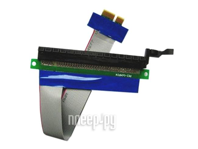 Аксессуар Espada PCI-E X1 to X16 EPCIEX1-X16rc  Pleer.ru  481.000