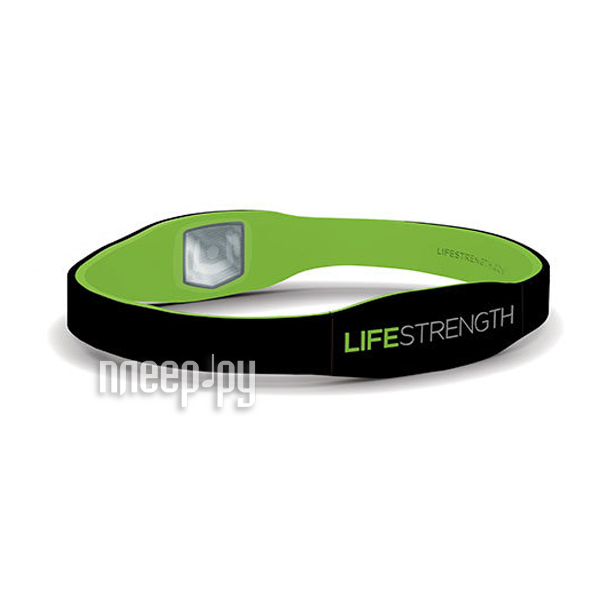 Браслет Lifestrength/Purestrength Pure LG Black/Green  Pleer.ru  1071.000