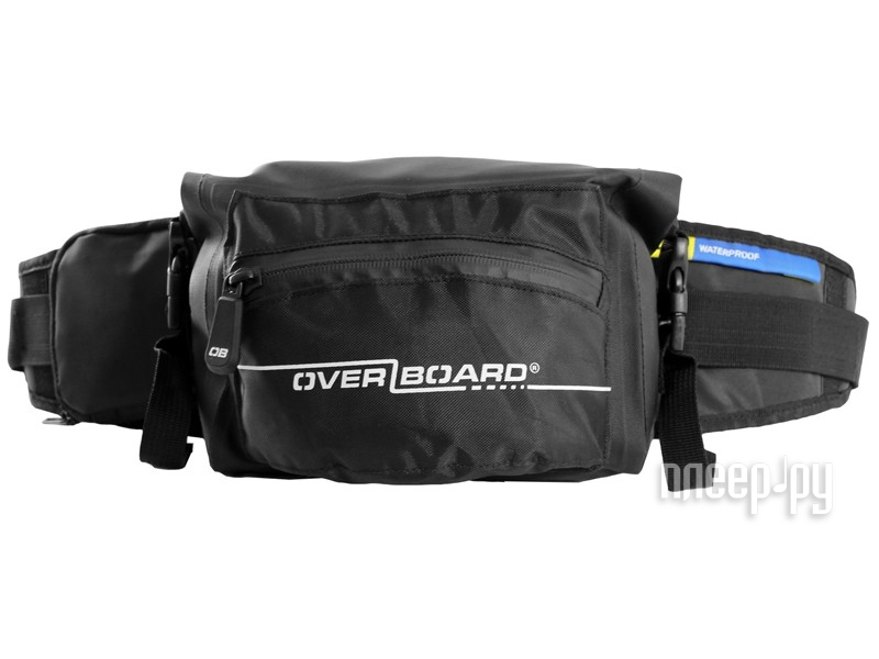OverBoard Waterproof Waist Pack 3 Litres OB1049BLK