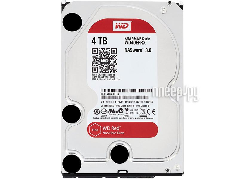 Жесткий диск 4Tb - Western Digital WD40EFRX