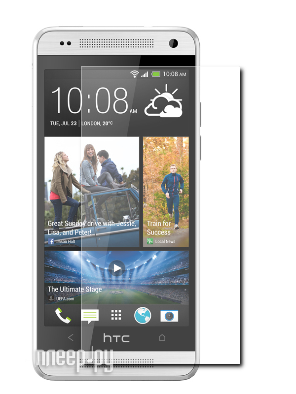 Аксессуар Защитная пленка HTC One mini Ainy / Media Gadget Premium глянцевая  Pleer.ru  94.000