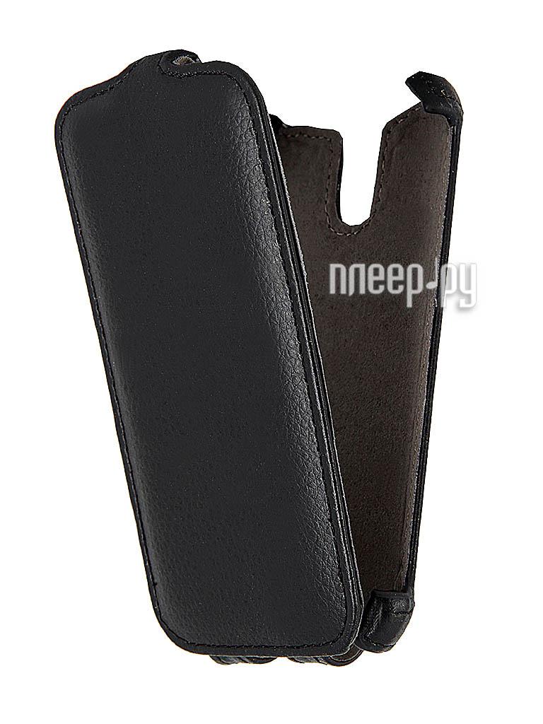 Аксессуар Чехол HTC Desire 500/500 Dual Ainy / iBox Premium Black  Pleer.ru  1109.000