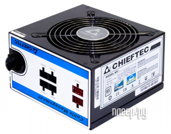 Блок питания Chieftec CTG-650C-Box 650W+