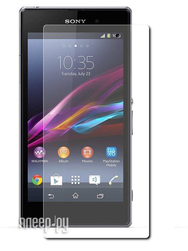 Аксессуар Защитная пленка Sony Xperia Z1 LuxCase суперпрозрачная 80937  Pleer.ru  555.000