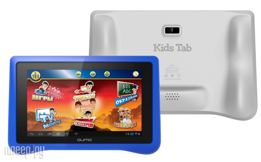 Планшет Qumo Kids Tab Blue  Pleer.ru  4679.000