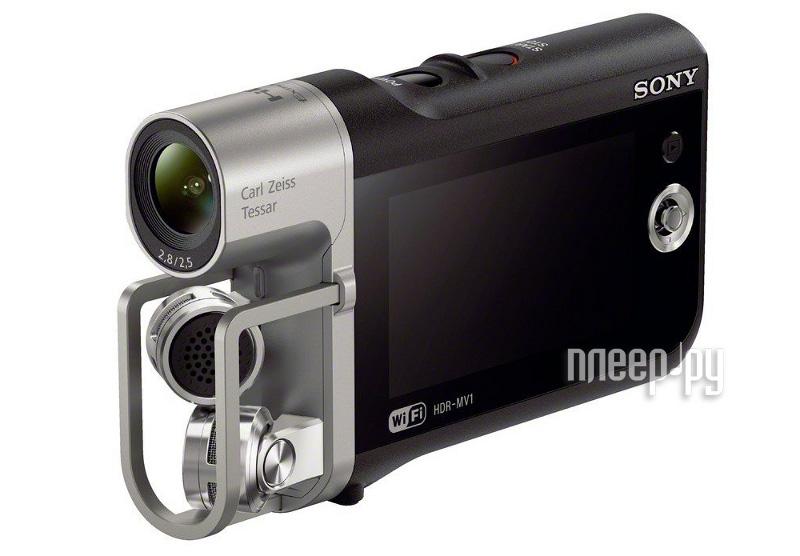 Экшн-камера Sony HDR-MV1  Pleer.ru  9587.000