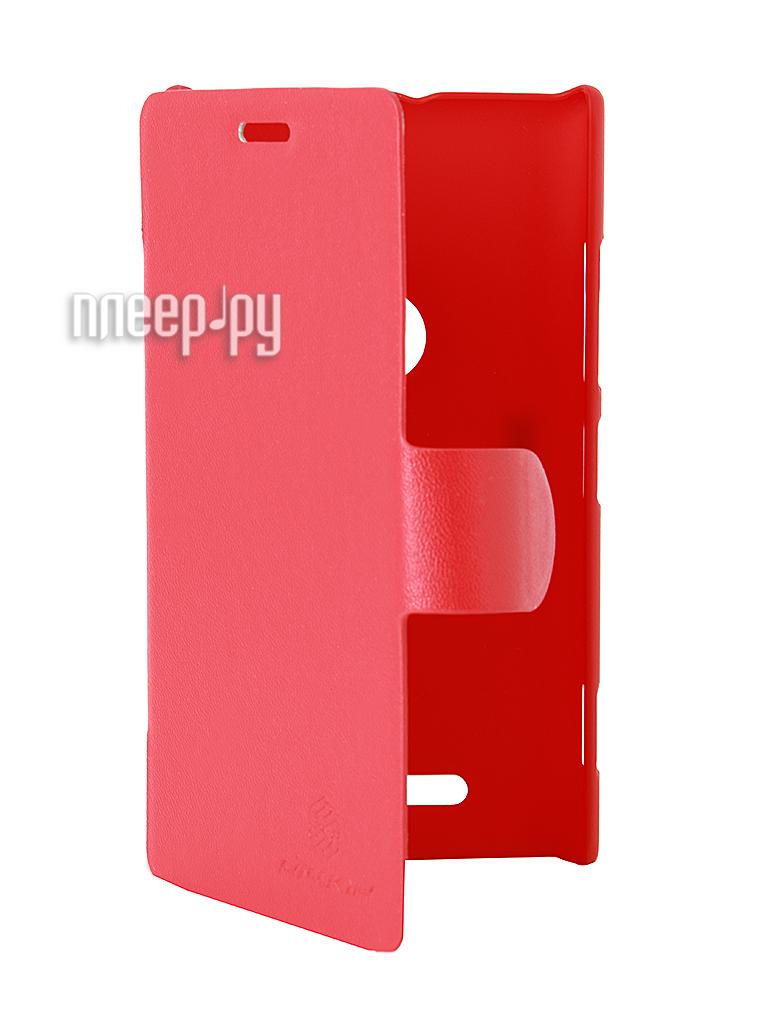 Аксессуар Чехол Nokia Lumia 925 Nillkin V-Series Red  Pleer.ru  449.000