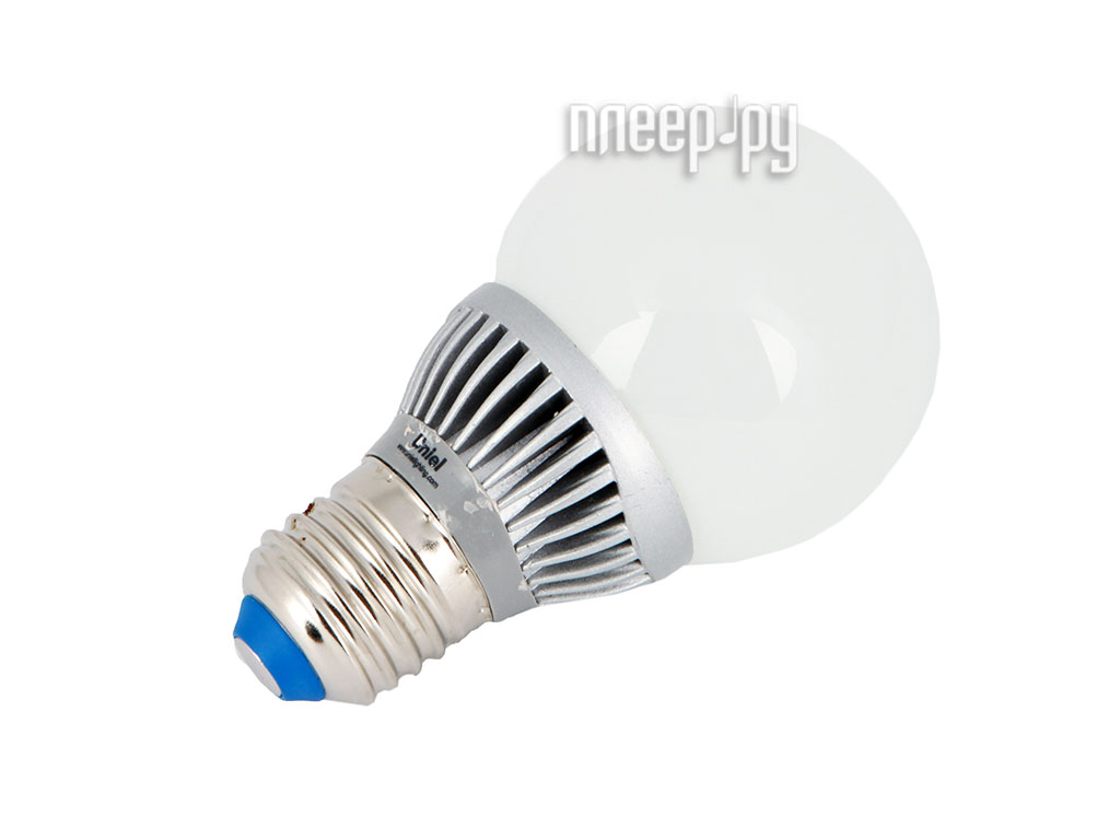 Лампочка Uniel Smile LED-G60-5W/WW/E27/FR ALS01SL 470 Lm (теплый белый, 3000К)  Pleer.ru  311.000