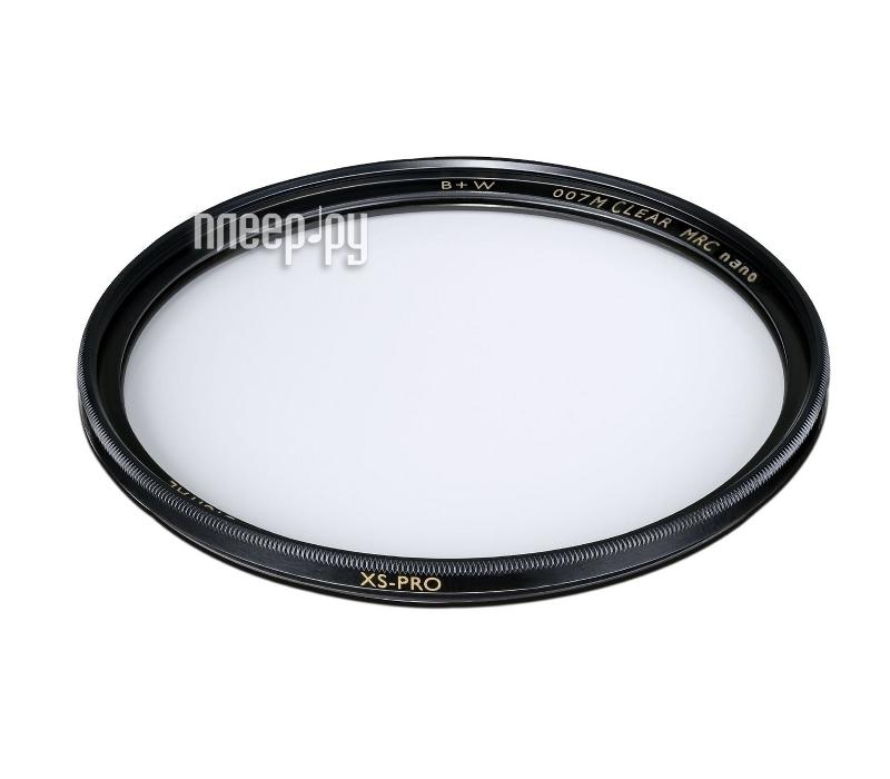 Светофильтр B+W 007M XS-Pro Clear MRC Nano 58mm (1066106)  Pleer.ru  1747.000